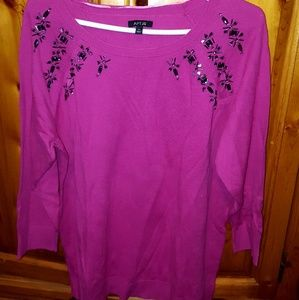 End of Season Sale Jeweled Sweater